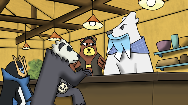 Beartic Cafe by gerald4754
