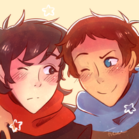 Fluffy Klance by fienechan
