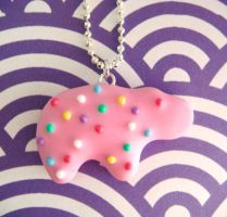 Hippo Animal Cookie by KawaiiCulture