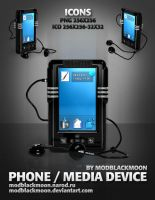 MB Phone Media Device by modblackmoon