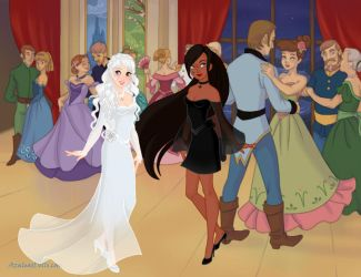 Snow Queen Scene Maker-Yin and Yang by DragonWitch1469