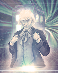 Doctor Who - William Hartnell by Kachumi