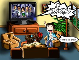 Reaction to Jacob's Band by AnimeChick4DDR