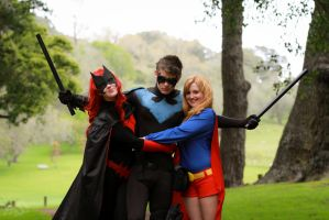Nightwing gets the ladies cosplay by CpCody