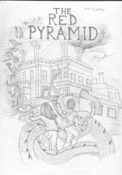 The Red Pyramid Cover Art sketch by DemiSwift