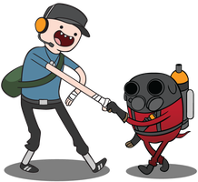 Adventure Team Fortress - Vector by nrxia