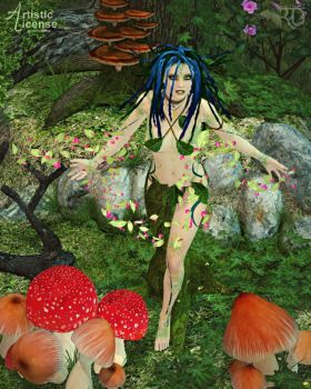 Enchantment of the Dryad by RavenMoonDesigns