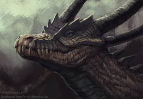 Crocdragon by Valentina-Paz