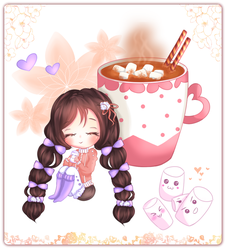 Hot Chocolate ~ Marshmallow by OKtiger