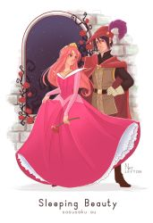SS DisneySet sleepingbeauty Pink by Fey-Rayen