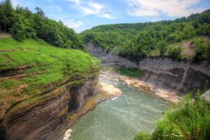 Genesee Bend I by Mooseushi