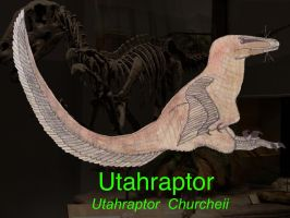 UTAHRAPTOR by HUBLERDON