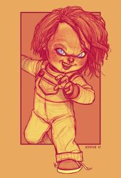 YOUR FRIEND TILL THE END - CHUCKY by EddieHolly