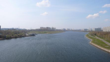 Moscow River by AngelWZR