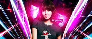 SNSD Sooyoung Signature by tozic