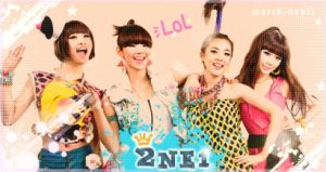 2NE1 DesigN by marik-devil