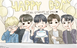 Happy 2nd Anniversary Day6 by Jen-senpai