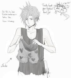 Cloud and Zacks underwears XD by Gamesoul