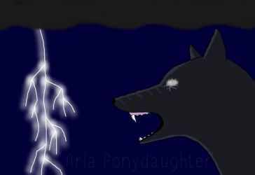 Lightning Storm by AriaPonydaughter