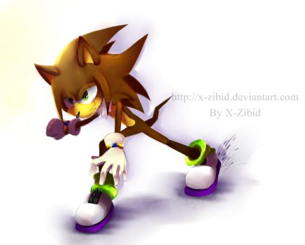 Lynus the Porcupine by X-Zibid