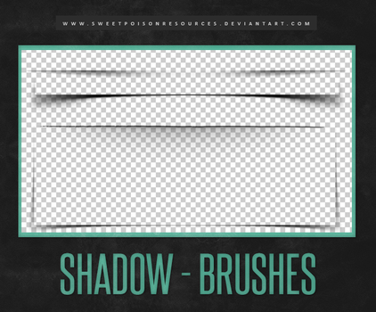 Shadow Brushes | Photoshop by sweetpoisonresources