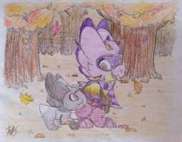 (WP#23) Maybe just Leaves by PoppyWolfMoon