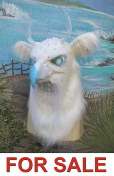 Winter Ghost Hippogriff FOR SALE by LilleahWest