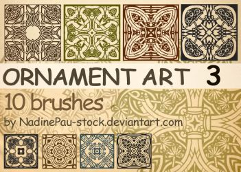 Ornament art -  part 3 by NadinePau-stock