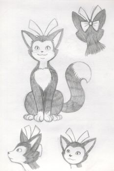 Katy the Cat by Whimsy-Floof