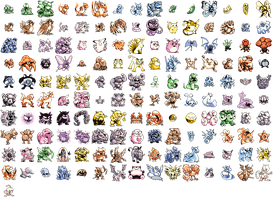 Green Pokemon Sprites