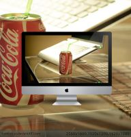 Coca Cola wallpaper by hombre-cz