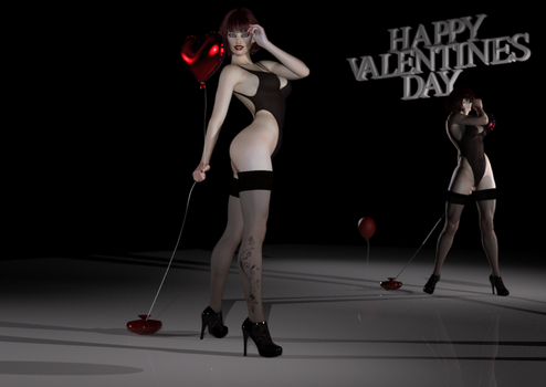HAPPY VALENTINES DAY by Doing-it-in-3d