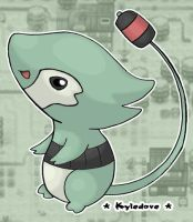 Cattail Pokemon by Kyle-Dove