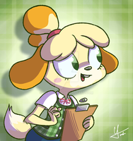 Most Hardworking Doggy by Touhatsu