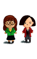 Daria and Jane by tite-pao