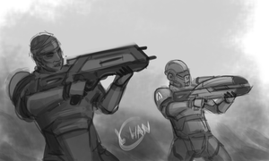 Alliance Marines by Hanonaut
