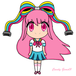 Chibi Giffany by CandyGems01