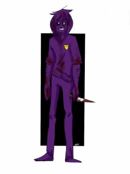 FNAF - Purple Guy by WFare