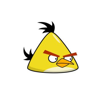 Angry Bird - Yellow Bird by life-as-a-coder
