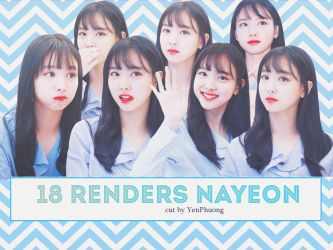 Pack Render NaYeon (TWICE) #5 by YenPhuong