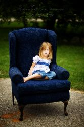 blue chair...1 by CreativeExpressions