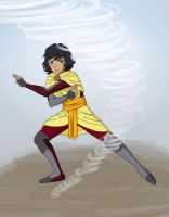 Difference - Beifong Week by LimeGreenBunny