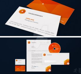 Hexagon Corporate Design by design-on-arrival