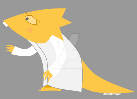Dr Alphys by Sandman-Ivan