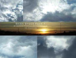 Skies Stock Pack 1 by reznor70-stock