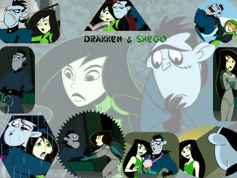 Drakken and Shego by maia1995