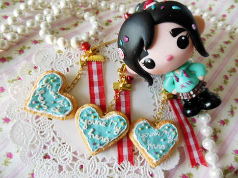 Youre My Hero Cookie Charms and Vanellope by KeoDear