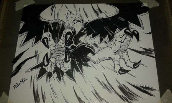 Inktober 2017 No.1 Swift by MikeES