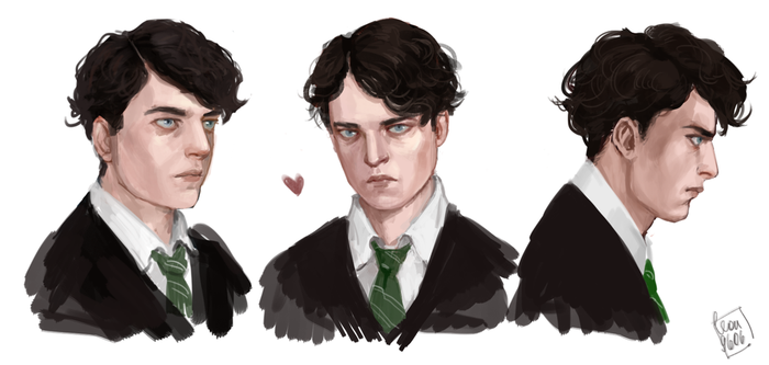 Tom Riddle by Leon9606