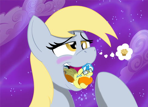 VORE: Giant Derpy Noms Arty by BBBHuey